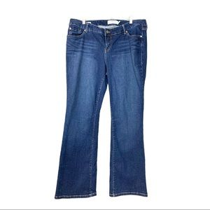 Torrid • Relaxed Boot Cut Blue Denim Jeans • 16